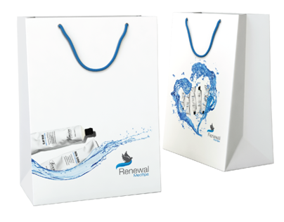 Renewal MedSpa Identity & Bag Design