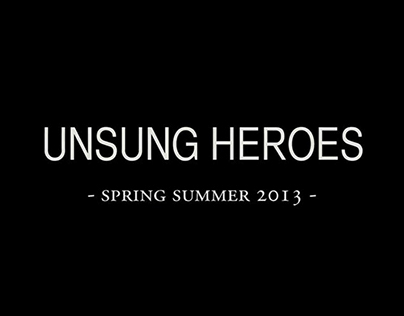 Unsung Heroes. Mercedes-Benz Berlin Fashion Show
