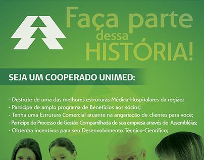 Folheto Cooperativismo Unimed