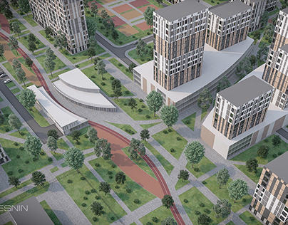 """reconstruction of a residential area """"UNION"""""""