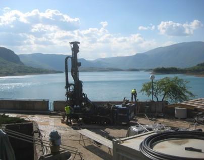 Dam HPP Rama - Rehabilitation of Grout Curtain