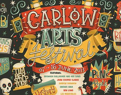Carlow Arts Festival - Poster