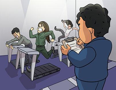 illustration - training
