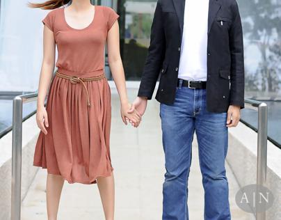 Engagement Shoot at Marina Bay Sands Singapore
