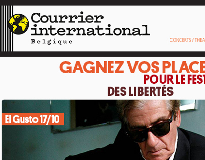 Newsletter - Courrier International Belgique