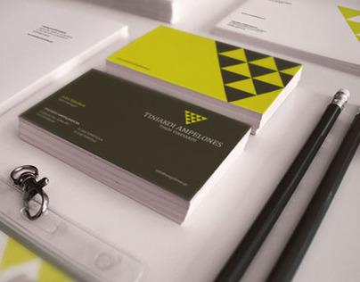 TINOS VINEYARDS. Brand identity.