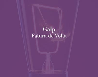 Galp - Fatura de Volta