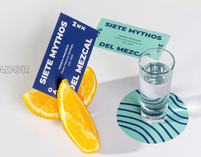7 MYTHOS DEL MEZCAL - Branding and label