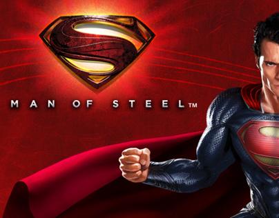 Man of Steel™--packaging/branding for Mattel Toys