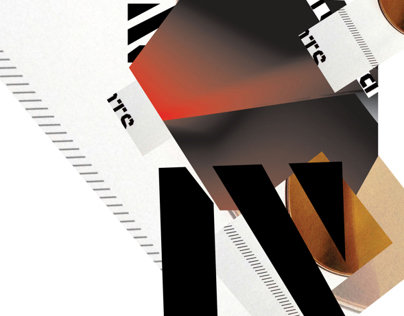 Typographic Collages