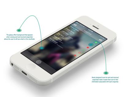 Snapchat UI Redesign