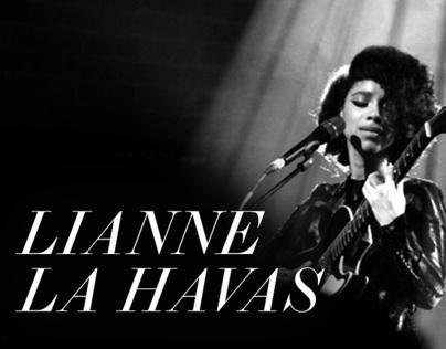 Lianne La Havas Mobile Site