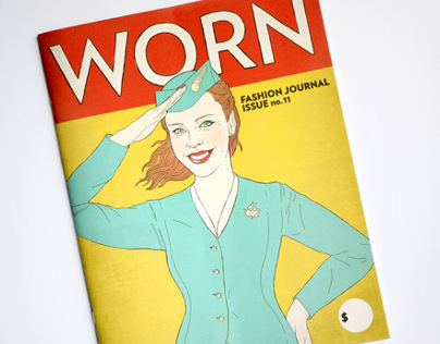 WORN Fashion Journal illustration
