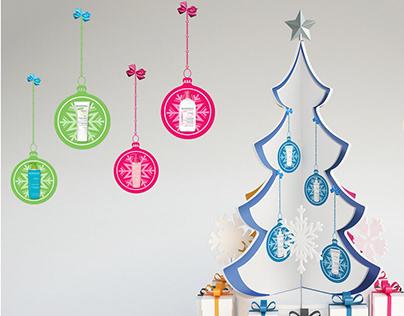 Bioderma Christmas Display