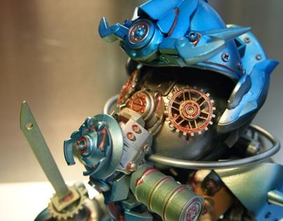 Gas Mask Samurai - 'Cap Duck' Custom