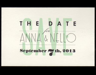 Anna & Nello - Wedding Set
