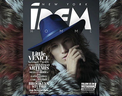 IDEM MAGAZINE NEW YORK COVER