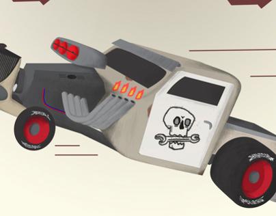 Rat Rod Toy Design