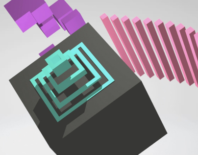 "10"" Primitive project : The Cube"