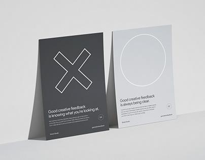 Good creative feedback posters