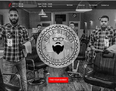 Landing Page for Barber Shop