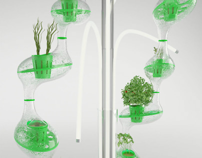 planTree - hydroponic plant cultivator