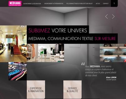Textile specialist website