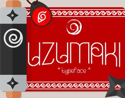 Uzumaki Typeface