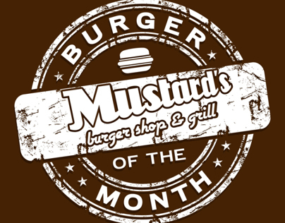 Burger of the Month By Mustard's
