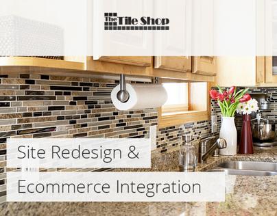 The Tile Shop Redesign & Ecommerce Integration
