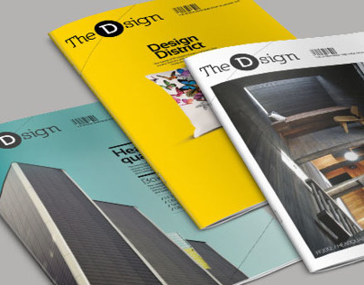 THE D SIGN. InDesign magazine template