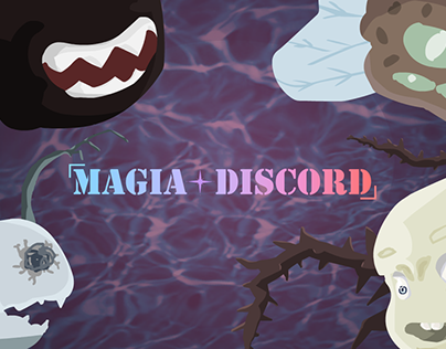 Magia Discord: 2D Shooter Video Game