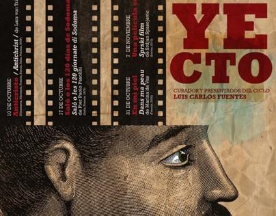 Poster Cine club del Centro de las Artes de SLP, Mx