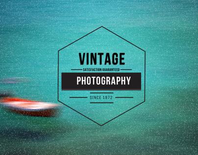 Free Vintage Insignia Logo Badge for Photographers