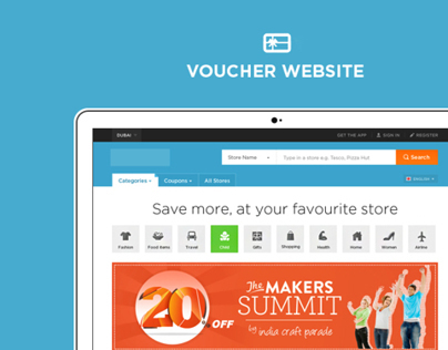 Vouchercode Website