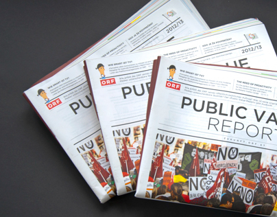 ORF Public Value Report Illustration and Editorial