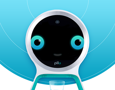 Pillo Healthcare Robot Emotions