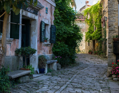 Croatia - Grožnjan, Motovun