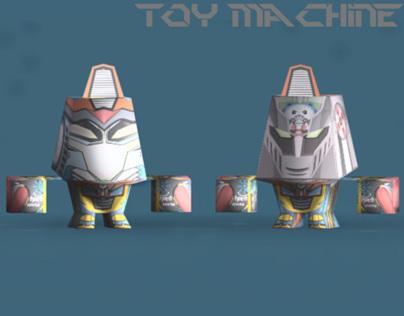 """Toy Machine"" Mix Character series"