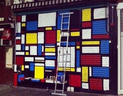 Painting Dalston Superstore