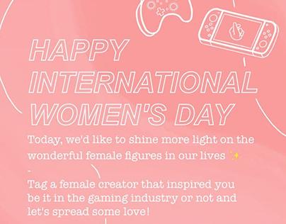 Story Template V: (IGN Sea)International Women's Day