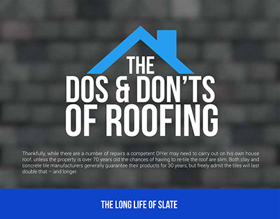Roofing Tips Infographic