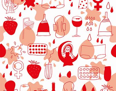 Seamless Pattern (nothing is tabu)