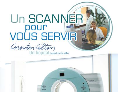 Affiche hôpital Corentin-Celton (2006)