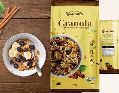 Granola - Projeto de Embalagem