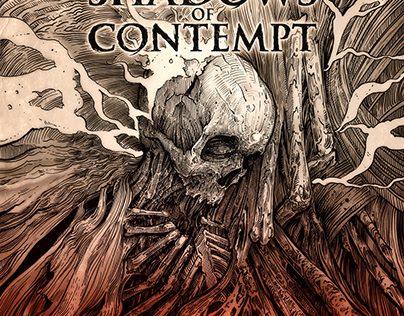 Shadows of contempt. Deathmetal. Russia
