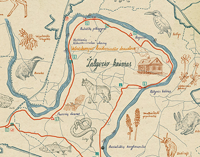 Nature map