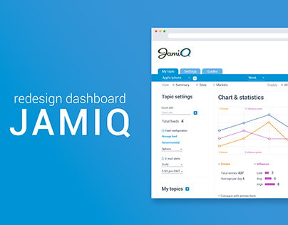 Redesign Dashboard JamiQ
