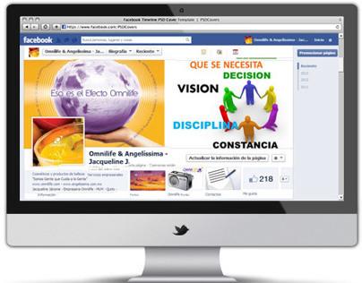 Facebook  Fanpage - Página principal - Social Media