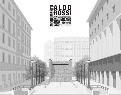 Monument to Sandro Pertini   Aldo Rossi